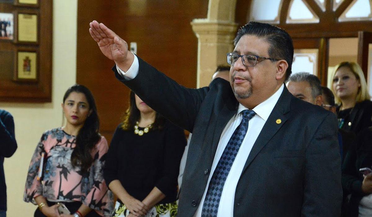 Leopoldo Jiménez Soto, contralor carnal, contraloría