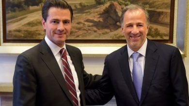 Enrique Peña Nieto y José Antonio Meade