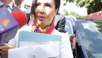 Trasladan a Rosario Robles a penal Santa Martha Acatitla