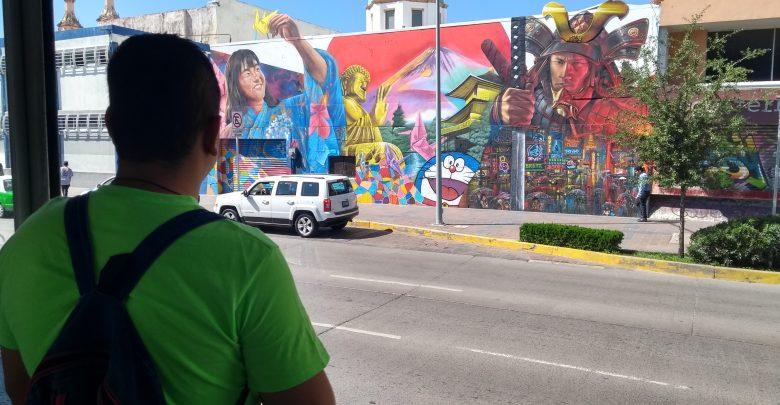 Vista de mural
