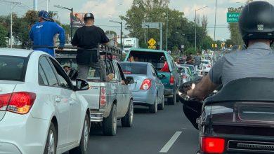 Tráfico vehicular en León