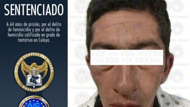 Photo of Sentencian a 64 años de cárcel a feminicida celayense