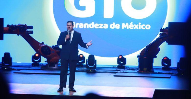 El gobernador Diego Sinhue en la Hannover Messe