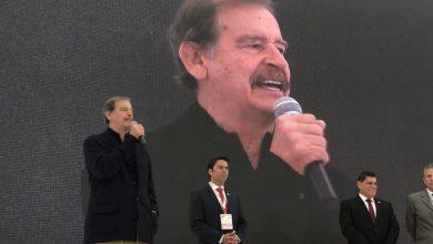 Vicente Fox en la inauguración de Citek 2019