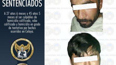 Dictan sentencia a dos ladrones y homicidas en Celaya