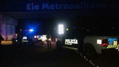 Elementos de las Fuerzas de Seguridad Pública del Estado llevan a cabo operativos en el Eje Metropolitano, en el tramo comprendido Purísima-León.