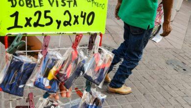 Van contra vendedores de cubrebocas en León