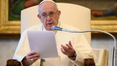 """""""Rezamos por todos ellos, hermanos y hermanas les estoy muy cercano"""", dijo el Papa Francisco en español, durante su audiencia"""