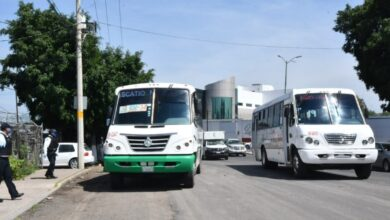 Photo of Confirman segundo fin de semana sin transporte público en Irapuato