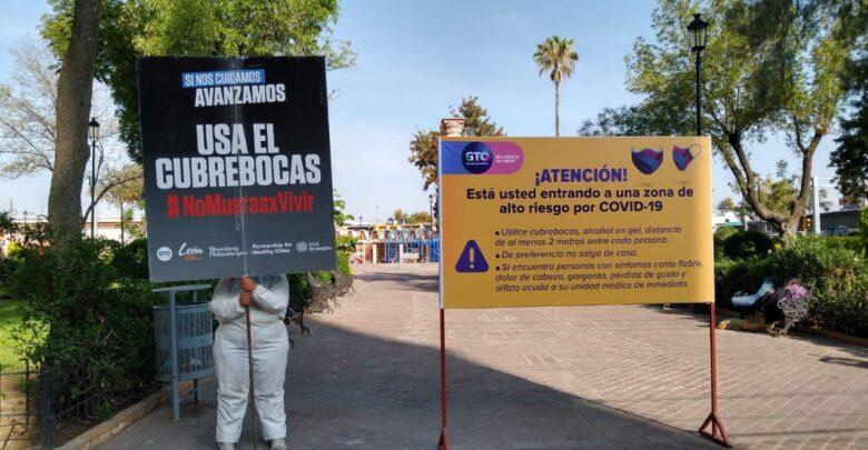 El Municipio de León informó cuáles son las colonias con más contagios en la ciudad, con el objetivo de mitigar la propagación