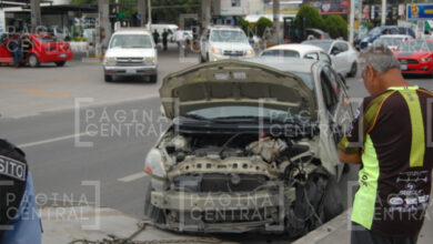 Photo of Se registra semivolcadura en pleno Mariano Escobedo