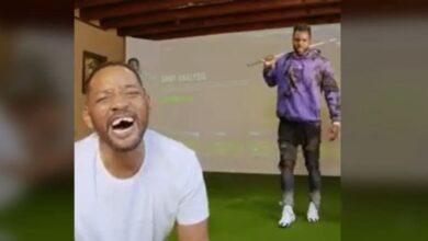 Photo of Will Smith se queda sin dientes jugando golf con Derulo