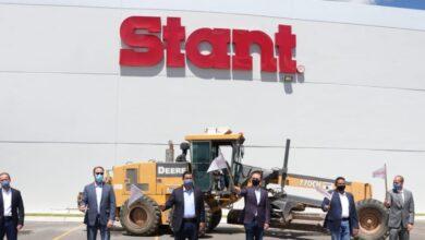 Photo of Arrancan gobernador y Villarreal expansión de Stant en Polígono Industrial