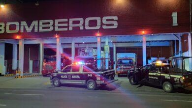 Photo of Abandonan a baleado frente a estación de Bomberos
