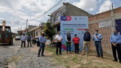 Photo of Inaugura Diego Sinhue obras de pavimentación en Purísima