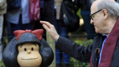 Photo of Muere Quino, un día después del cumpleaños de Mafalda