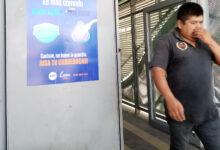 Photo of Preocupan a usuarios del SIT las personas sin cubrebocas