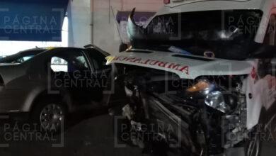 Photo of Reportan fuerte choque de una ambulancia en Los Ángeles