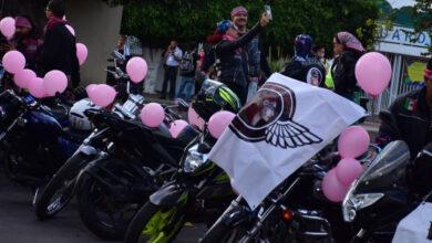 Photo of Ruedan 'bikers' para fomentar la lucha contra el cáncer de mama