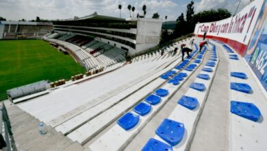 Photo of Inician colocación de butacas en el Estadio Sergio León Chávez