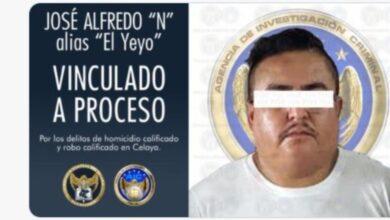 Photo of Vinculan al 'Yeyo' por homicidio calificado y robo calificado