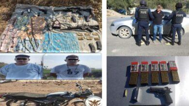 Photo of 'El Mamer' y 18 personas fueron detenidos por diversos delitos