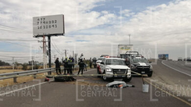 Photo of Fallece motociclista tras accidentarse en la León-Silao